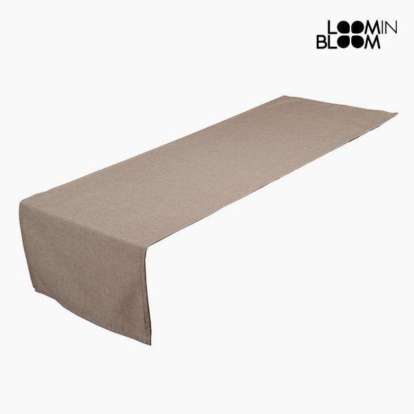 Table Runner Brun (40 x 13 x 0,5 cm) by Loom In Bloom