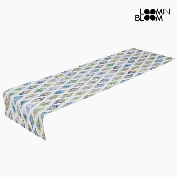 Table Runner Blå (135 x 40 cm) - Little Gala Samling by Loom In Bloom