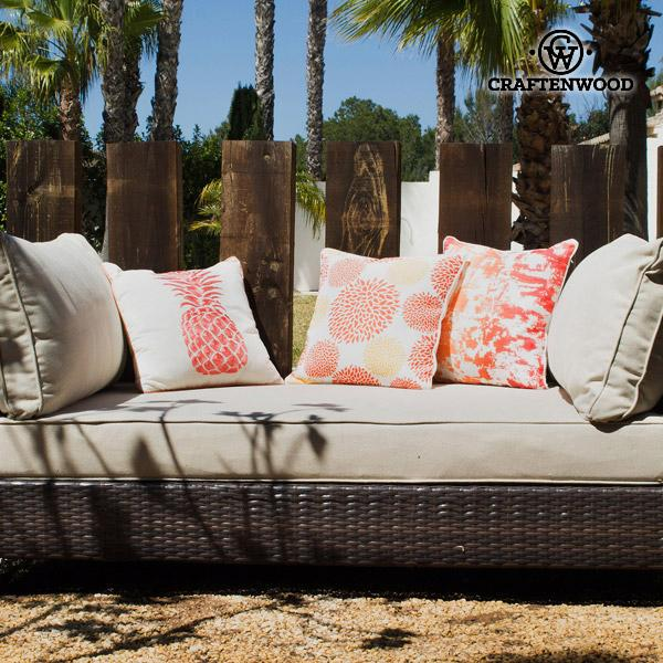 Havesofa (184 x 91 x 78 cm) Spanskrør Polyester