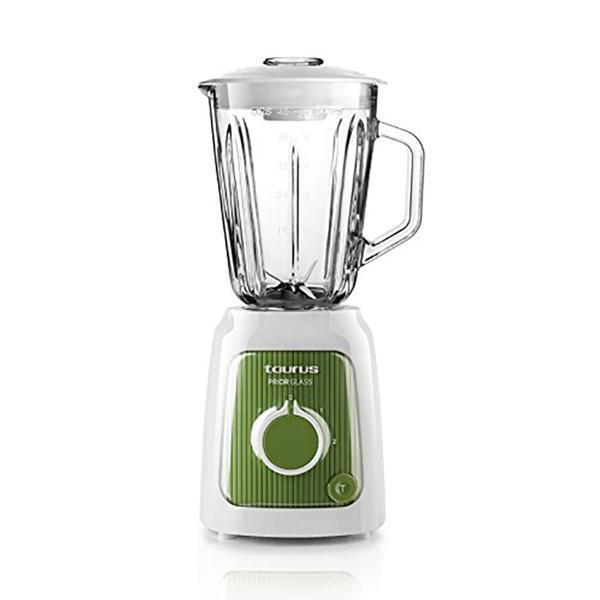 Kop-blender Taurus Prior Glass 1,5 L 600W Hvid Grøn