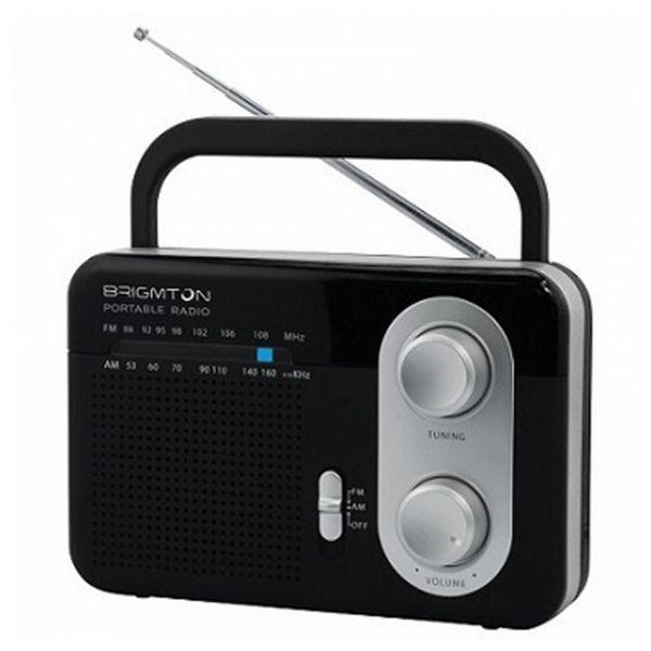 Transistorradio BRIGMTON BT 250 Sort