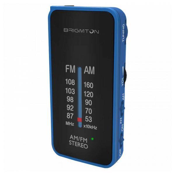 Transistorradio BRIGMTON BT224 Blå