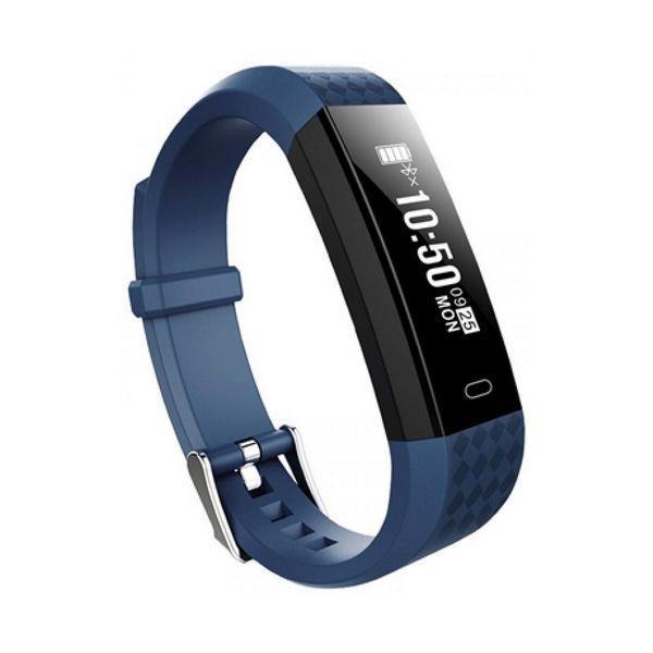 Aktivitetsarmbånd BRIGMTON BSPORT B1 0,87'''' OLED Bluetooth 4.0 IP67 Blå