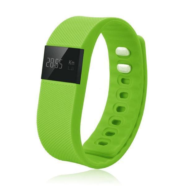 Aktivitetsarmbånd BRIGMTON BSPORT-11-V OLED 0.49'''' Bluetooth 4.0 IP56 Android /iOS 22 g Grøn