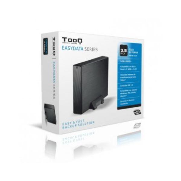 Ekstern Boks TooQ TQE-3527B HDD 3.5'''' SATA III USB 3.0 Sort
