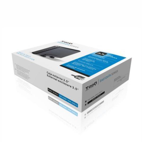 Ekstern Boks TooQ TQE-3509B HD 3.5'''' SATA III USB 2.0