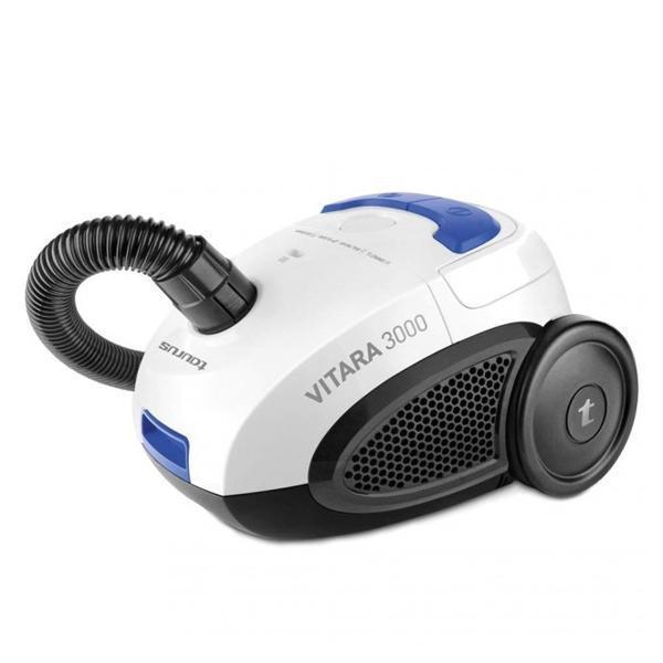 Støvsuger til pose Taurus Vitara 3000 New 2 L 800W 80 dB (B) Sort Blå Hvid
