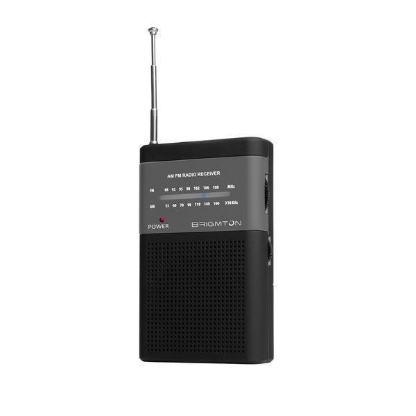 Transistorradio BRIGMTON BT-350-N Sort