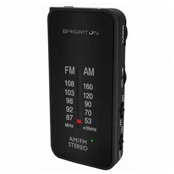 Transistorradio BRIGMTON BT224 Sort