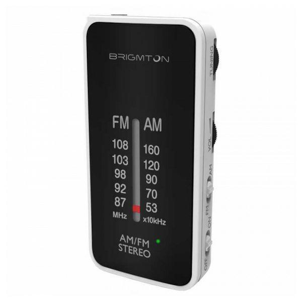 Transistorradio BRIGMTON BT224 Hvid