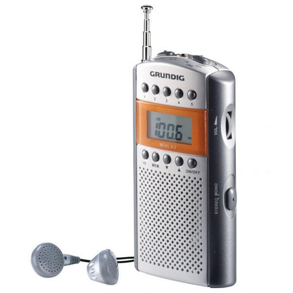 Transistorradio Grundig GRR-2090 FM Grå