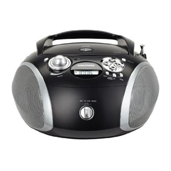 CD-radio Grundig GDP6330 USB 2.0 MP3 Sort
