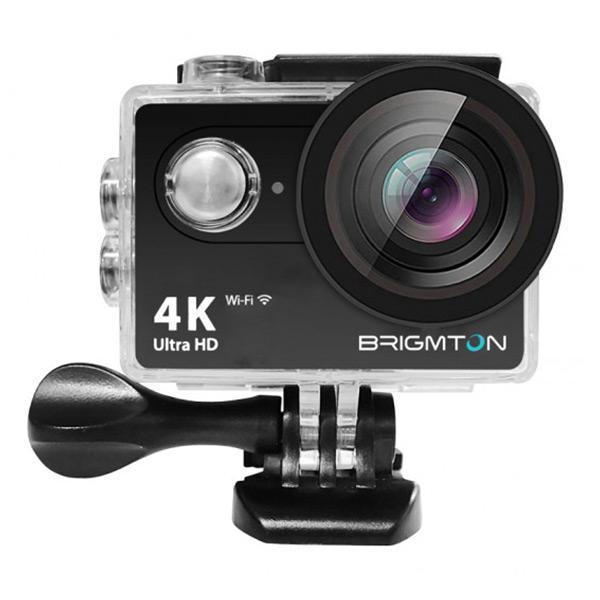 Sportskamera BRIGMTON BSC-10-HD4K Wifi Sort