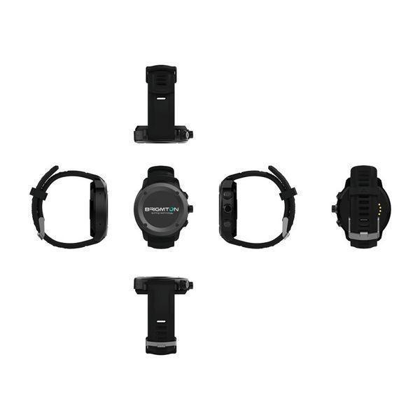 Smartwatch BRIGMTON BWATCH-100GPS-R 1,3'''' LCD Bluetooth Rød