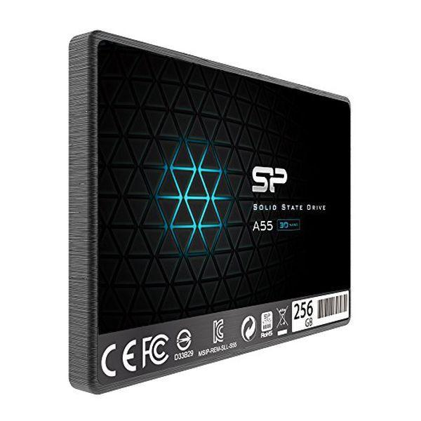 Harddisk Silicon Power SP256GBSS3A55S25 256 GB SSD 2.5'''' SATA III