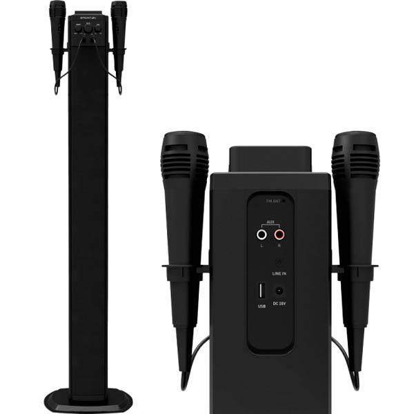 Bluetooth-lydtårn BRIGMTON BTW-40K 40W USB Sort