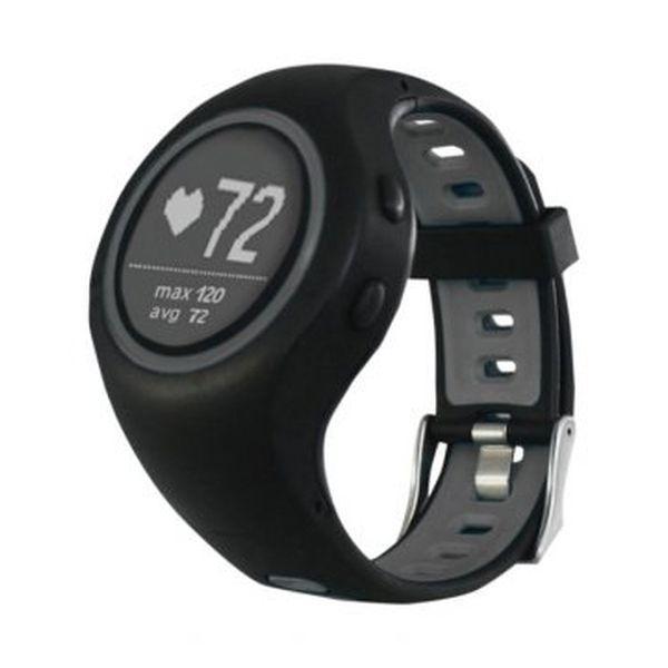 Smart Watch med skridttæller Billow XSG50PROG 280 mAh Bluetooth 4.1 GPS Sort