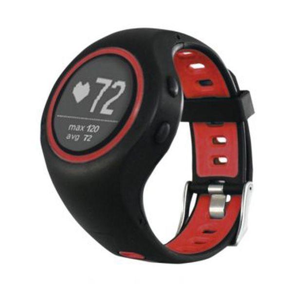 Smart Watch med skridttæller Billow XSG50PROR 280 mAh Bluetooth 4.1 GPS Rød