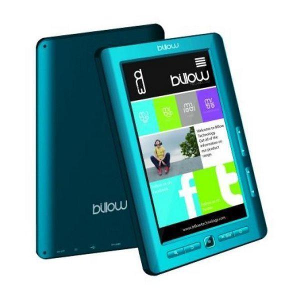 Colour Book Reader Billow E2LB 7'''' 4 GB Blau