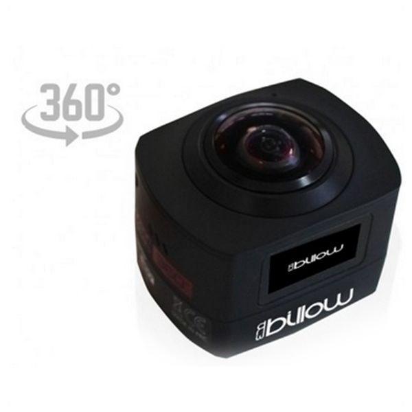 Sportskamera Billow XS360PROB 16 Mpx HD 220º Sort