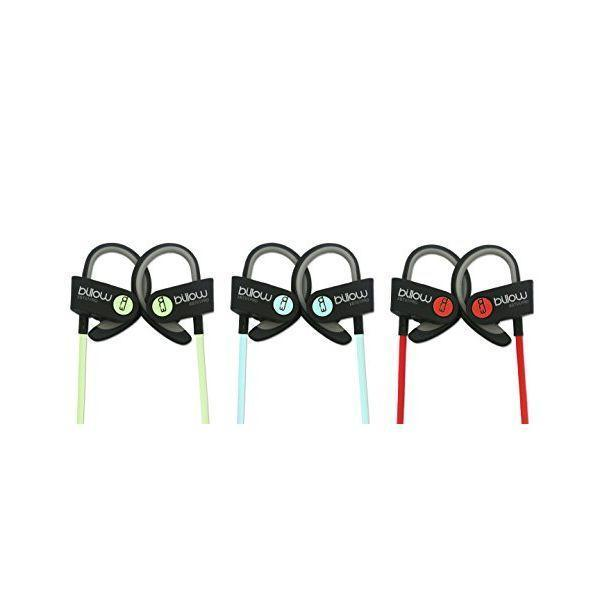 Sports Headphones with Microphone Billow MAUAMI0580 XBT01PROG Bluetooth 4.0 Grøn