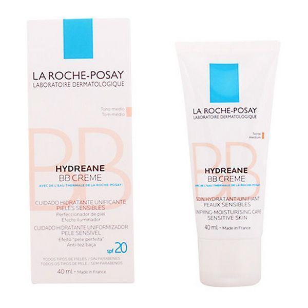 Fugtighedscreme med Farve Hydreane Bb Crème La Roche Posay Spf 20 (40 ml)
