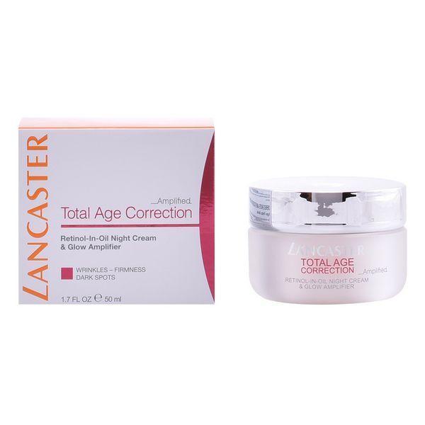 Anti-age natcreme Total Age Correction Lancaster (50 ml)
