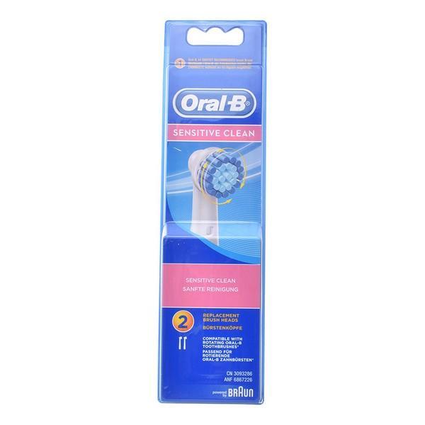 Tandbørstehoved Sensitive Clean Oral-B (2 uds)