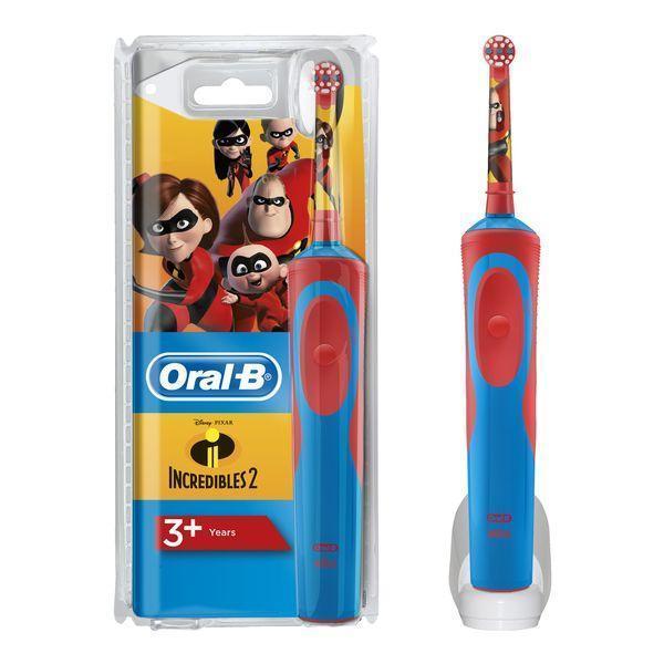 Elektrisk tandbørste D12 Vitality Increibles 2 Oral-B Kids