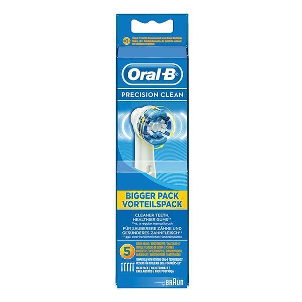 Ekstra til elektrisk tandbørste Oral-B Precision Clean (5 pcs)