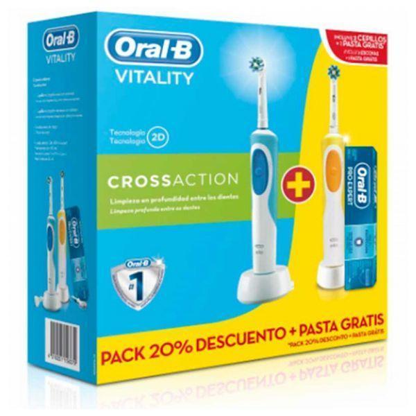 Elektrisk tandbørste Oral-B DUO VIT.CROSS 2 (3 pcs)