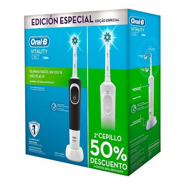Elektrisk tandbørste Vitality Cross Action Oral-B (2 uds)