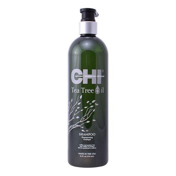 Fugtgivende shampoo Chi Tea Tree Oil Farouk (739 ml)