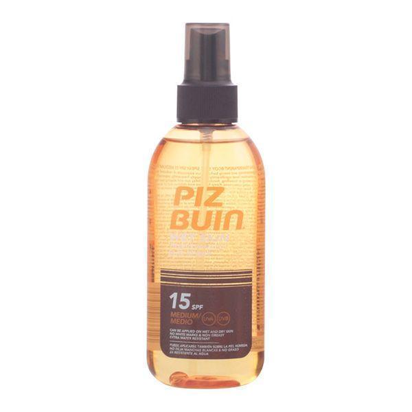 Solcreme spray Wet Skin Piz Buin Spf 15 (150 m)