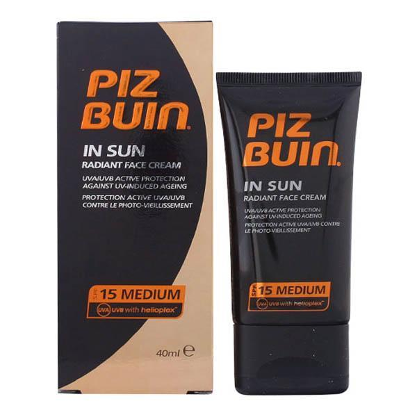 Piz Buin - PIZ BUIN IN SUN radiant face cream SPF15 40 ml