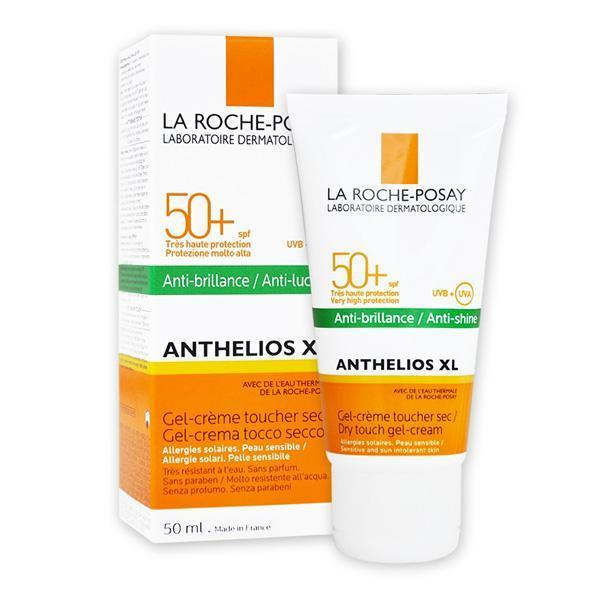 Sun Protection Gel Anthelios Dry Touch La Roche Posay Spf 50 (50 ml)