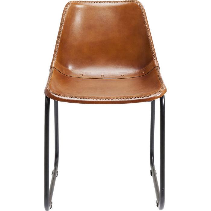 KARE DESIGN Vintage spisebordsstol - brun gedeskind