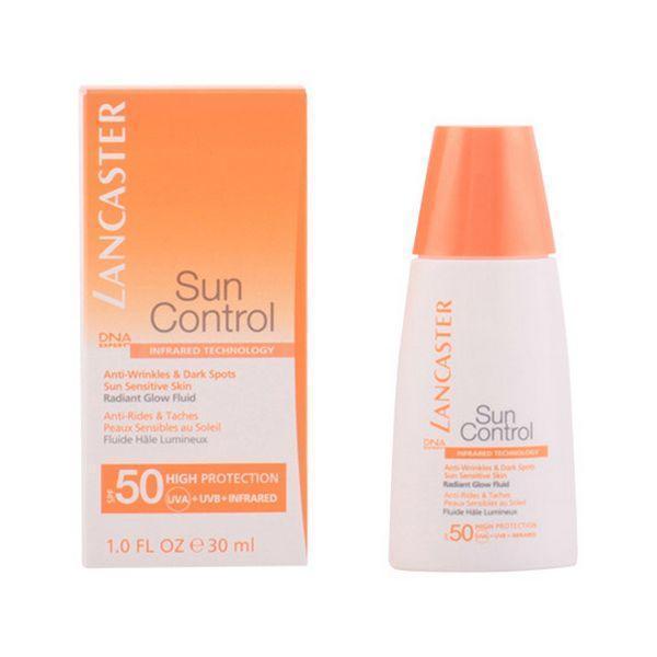 Solcreme til ansigtet Sun Control Lancaster SPF 50 (30 ml)