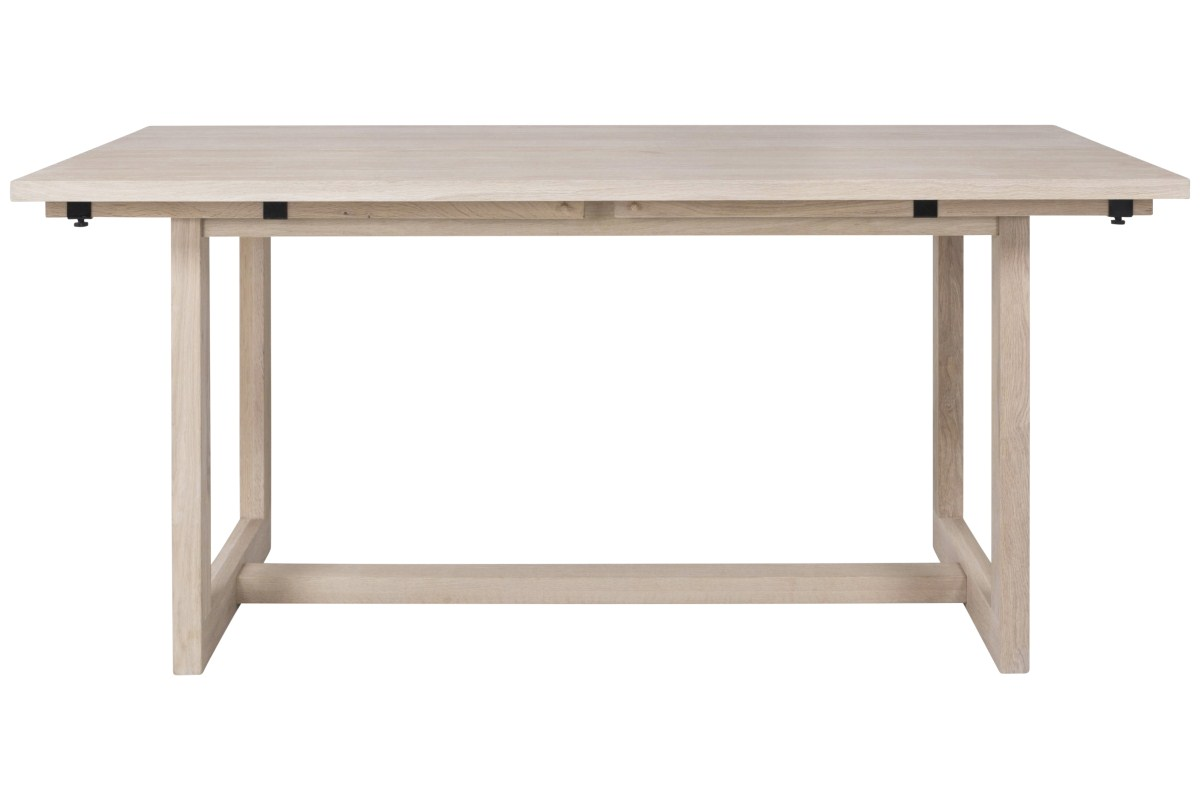 CANETT Binley plankebord - massiv lyst eg, m. udtrk (170x90)