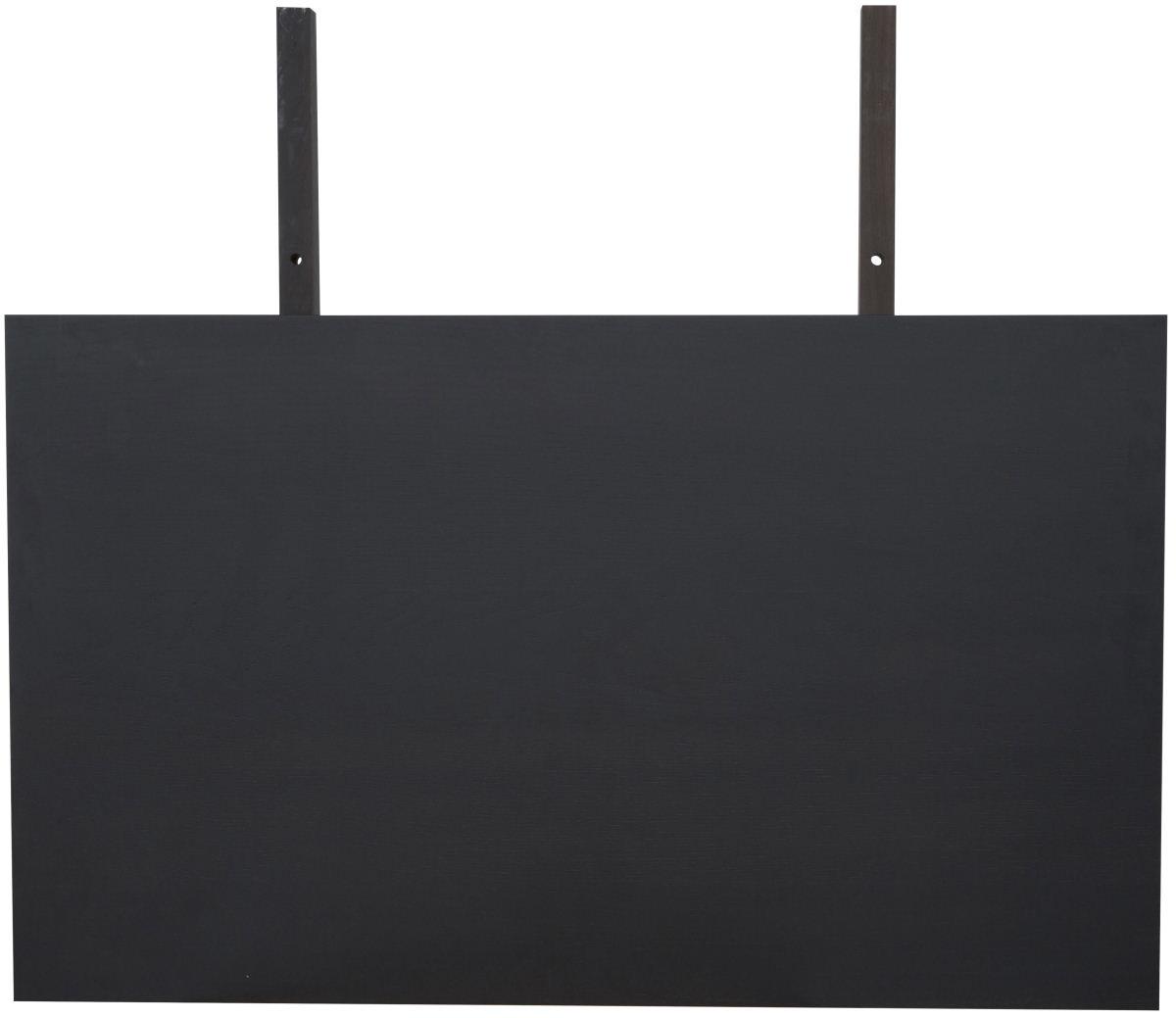 CANETT Gigant tillgsplade - antracitgr bejdset tr (100x60)