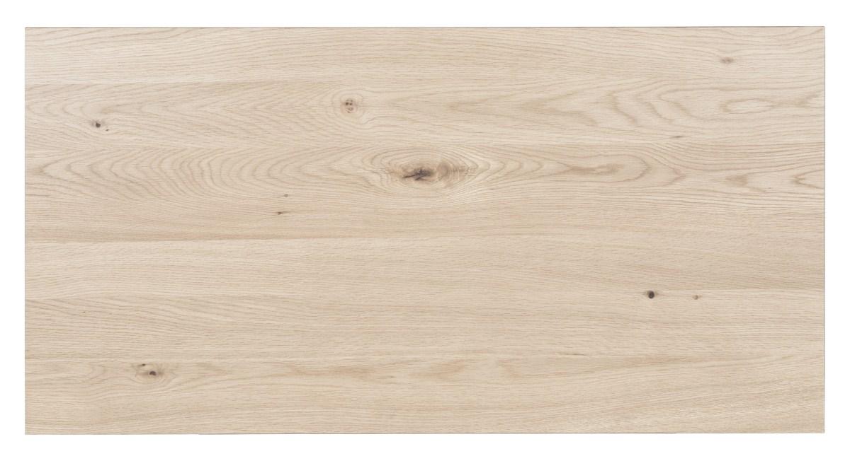 CANETT Maison tillgsplade - hvidolieret vildegfinér (100x50)