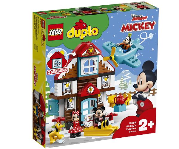 Mickeys feriehus - 10889 - LEGO DUPLO