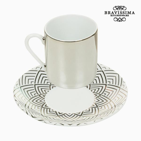 Kop og tallerken Magic Porcelæn Ark - Kitchen's Deco Samling by Bravissima Kitchen
