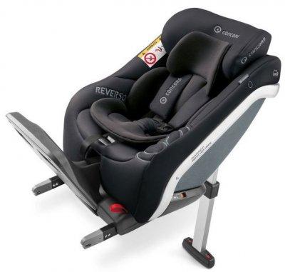 Concord Reverso Plus Autostol Nyfødt Til 23 Kg - Sort