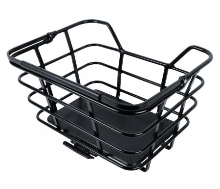 Atran Velo - Epic - Cykelkurv til bag - AVS system - 23 liter - Aluminium - Sort