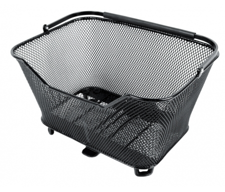 Atran Velo - Daily - Cykelkurv til bag - AVS system - 16 liter - Max 10 kg - Sort