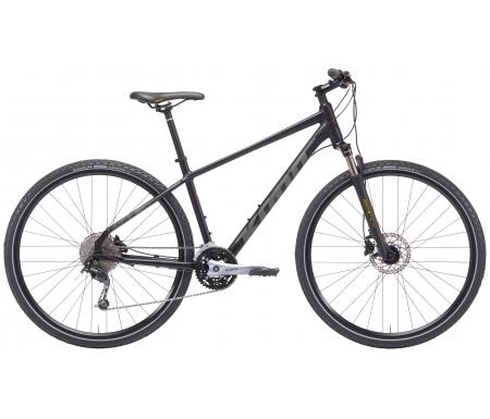 Kona - Splice Deluxe - 27 gear - Citybike - Sort