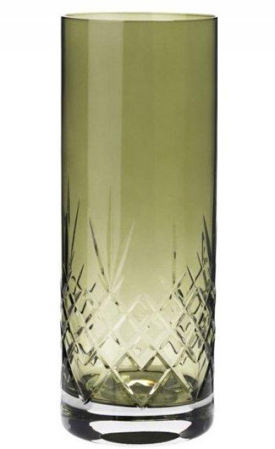 Frederik Bagger Vase - Crispy Emerald Love 2 Krystal Vase