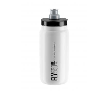 Elite Fly - Drikkedunk 550ml - 100% Biologisk nedbrydelig - Hvid med grå logo