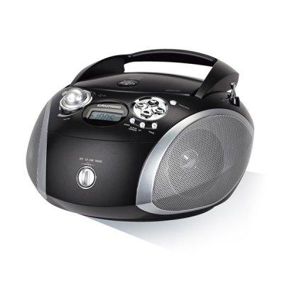 Grundig Gdp6330 - Ghettoblaster Med Cd Fm-Radio USB Og Mp3 - Sort